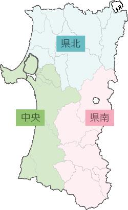 図:秋田県